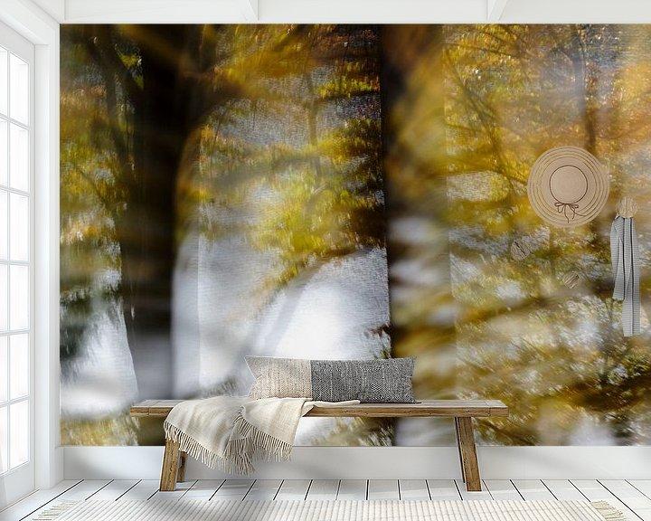 Beispiel fototapete: Herbstwald von Borg Enders