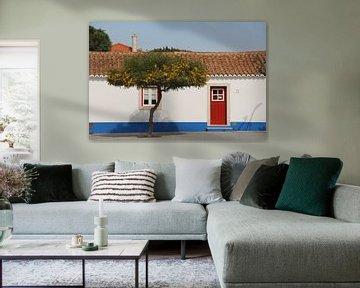 Buntes Haus im Alentejo, Portugal von SaschaSuitcase