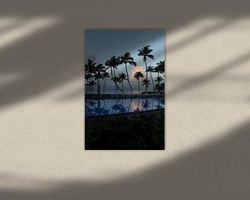 Pool auf Guadeloupe bei Sonnenaufgang von SaschaSuitcase