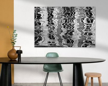 Linienspiel als moderne Kunst von Gelein Jansen
