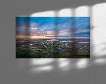 Slufter Texel na storm Bella van Texel360Fotografie Richard Heerschap