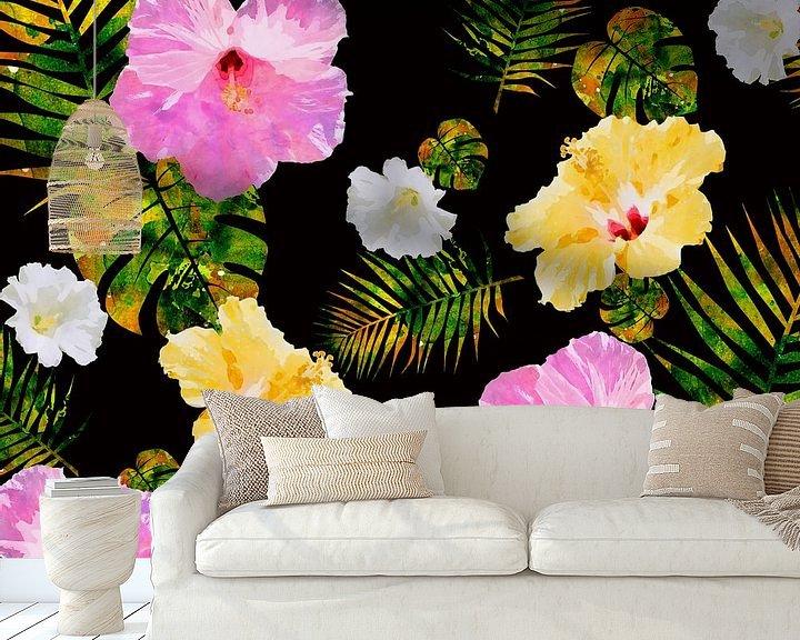 Sfeerimpressie behang: Hawaï nr. 4 van Andreas Wemmje