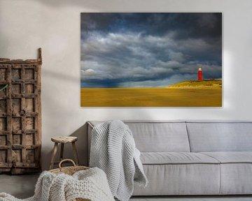 Vuurtoren Texel van Pim Leijen