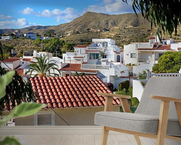 Beispiel fototapete: Ansichten von Luxus-Bungalows in El Campollo an der Costa Blanca von Gert Bunt