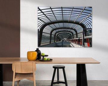 Station Nord in der Nord-Süd-Linie der Amsterdamer Metro von Gert Bunt