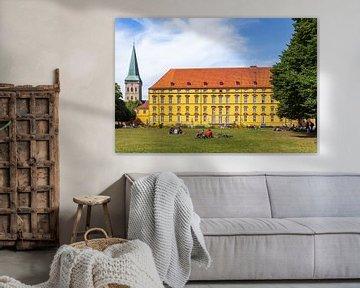 Fürstbischhöfliches Schloss, Osnabrück, Niedersachsen, Osnabrück, Deutschland, Europa von Torsten Krüger