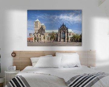 Münster in Westfalen : St.Paulus-Dom, Domplatz I kerk St.Paulus-Dom, M�nster in Westfalen , Nordrhei van Torsten Krüger