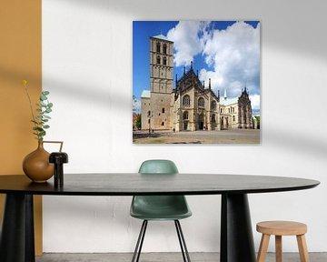 St.Paulus-Dom, Domplatz, Münster in Westfalen, Noordrijn-Westfalen, Duitsland van Torsten Krüger