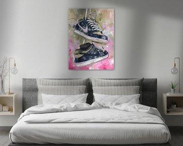 Nike sb dunk low Travis Scott Malerei. von Jos Hoppenbrouwers