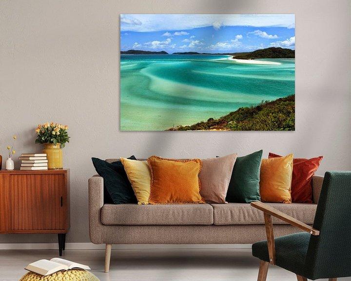 Beispiel: Die perlweißen Strände der Whitsunday Islands von Daphne de Vries