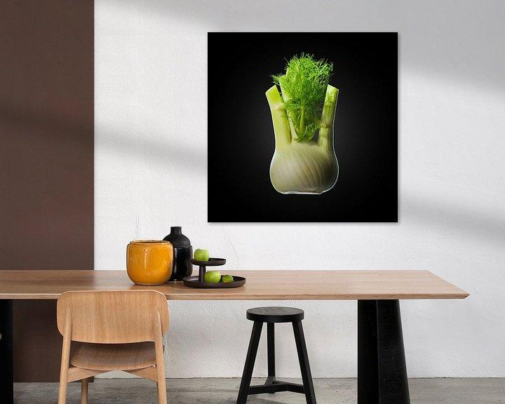 Sfeerimpressie: Food-Venkel op zwarte achtergrond van Everards Photography