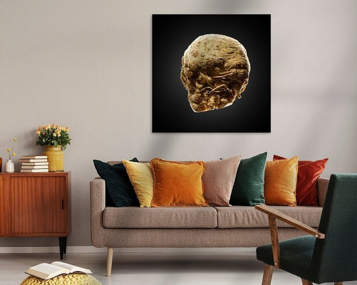 Sfeerimpressie: Food-Knolselderij op zwarte achtergrond van Everards Photography