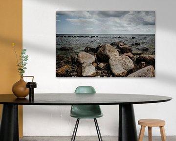 Steine an der Ostseeküste bei Sassnitz (Rügen) von Denny Lerch