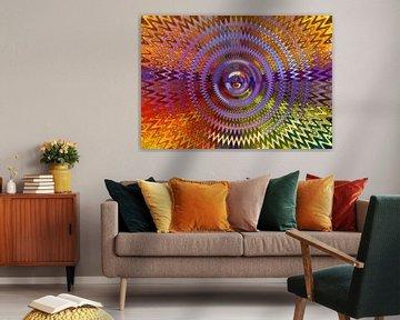 Mehrfarbige Wellen von Caroline Lichthart