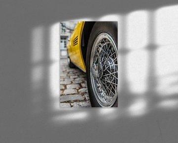 Am Steuer eines wunderschönen Maserati Ghibli von Bas Fransen