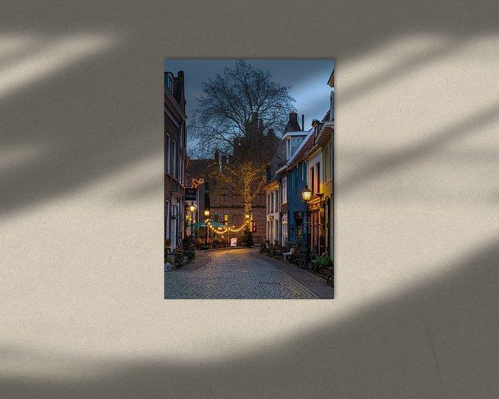 Sfeerimpressie: Avondfoto historische stad Doesburg van Jeroen Kleiberg