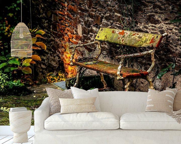 Sfeerimpressie behang: kleurrijk van Harrie Muis