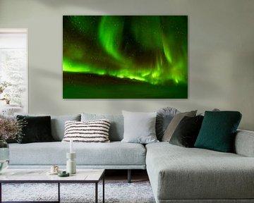 Noorderlicht boven Canada van Visual Approach