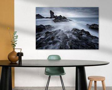 De grillige kust van Snaefellsnes van Sam Mannaerts Natuurfotografie
