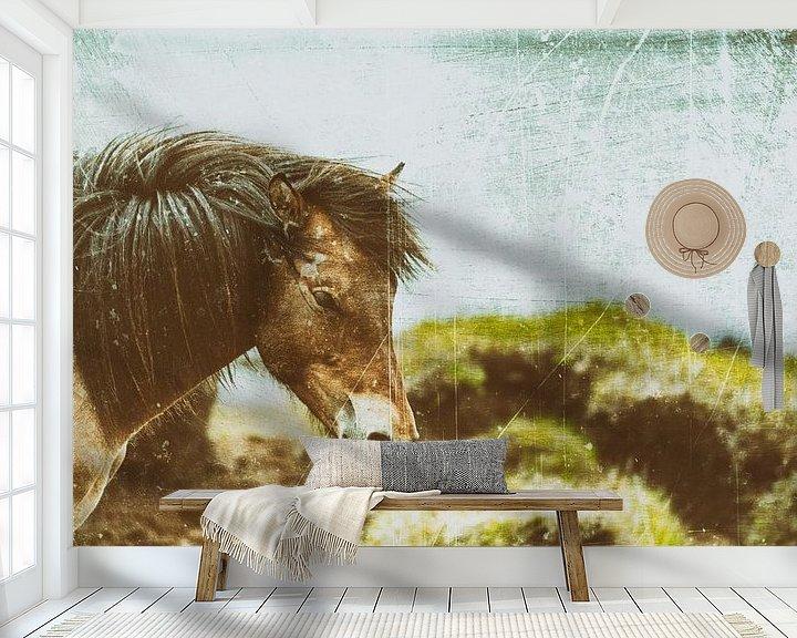 Beispiel fototapete: Rispað 4 von Islandpferde  | IJslandse paarden | Icelandic horses