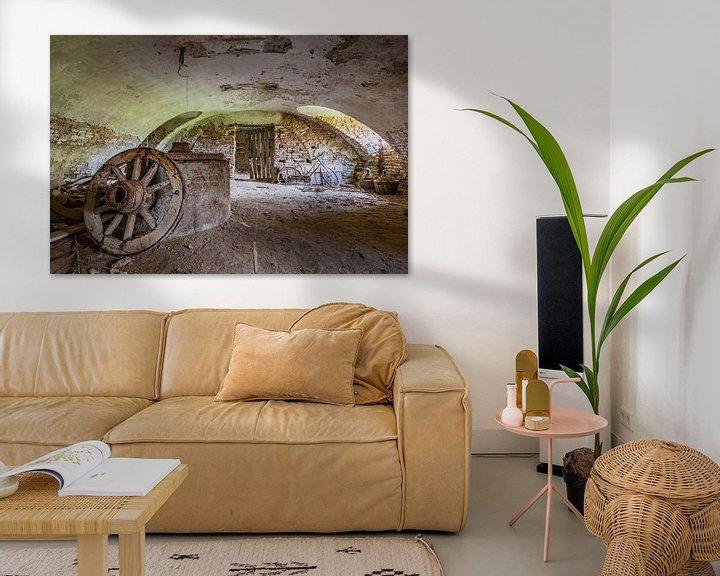 Beispiel: verlassener Keller von William Linders
