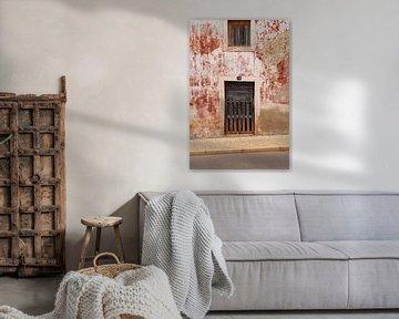 Holztür. von Robbie Buur