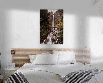 Wasserfall in Neuseeland von Lisanne de Beun