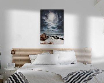 Strand en tegenlicht von Harrie Muis