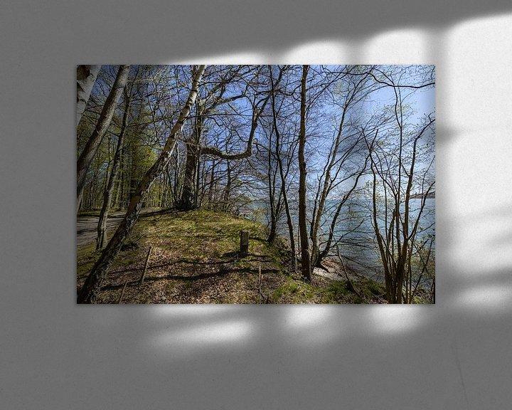 Beispiel: Rad- Wanderweg  entlang am Naturstrand in der Goor von GH Foto & Artdesign