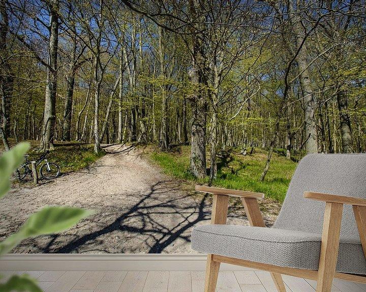 Beispiel fototapete: ad- Wanderweg  entlang am Naturstrand in der Goor von GH Foto & Artdesign