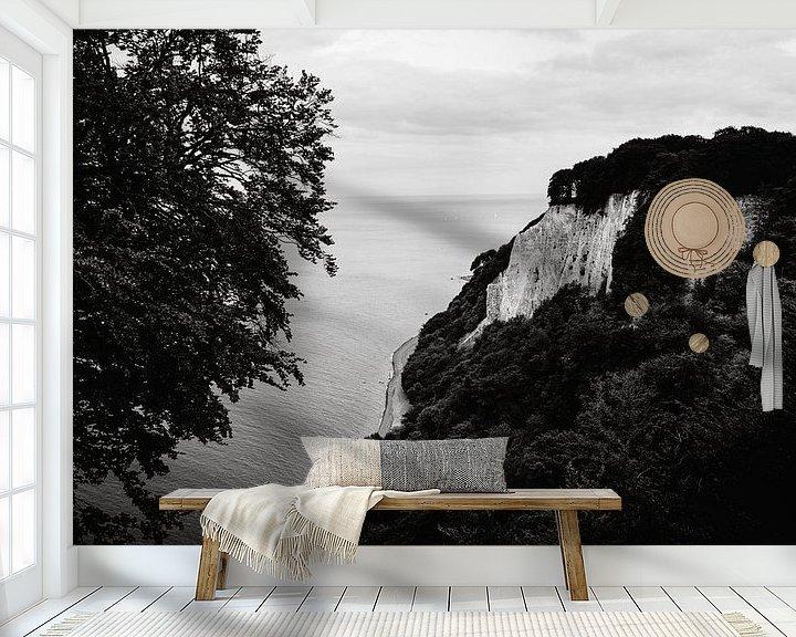 Beispiel fototapete: Kreidefelsen Rügen von Denny Lerch