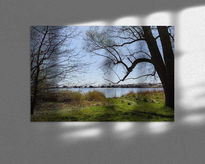 Beispiel: Yachhhafen Goor, Insel Vilm, Lauterbach auf Rügen von GH Foto & Artdesign