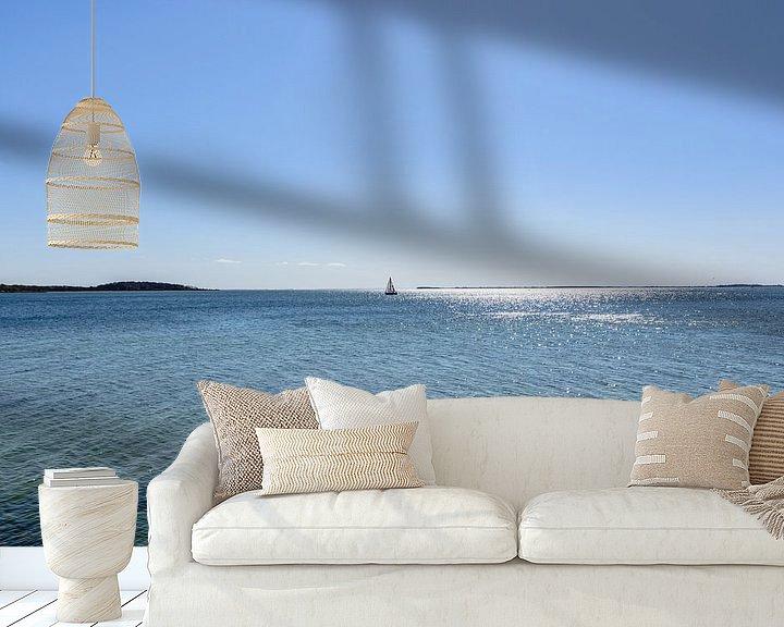 Beispiel fototapete: Segelschiff vor der Insel Vilm, Lauterbach auf Rügen von GH Foto & Artdesign