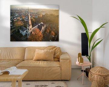 Riel dorpje in Brabant van MaxDijk Fotografie shop