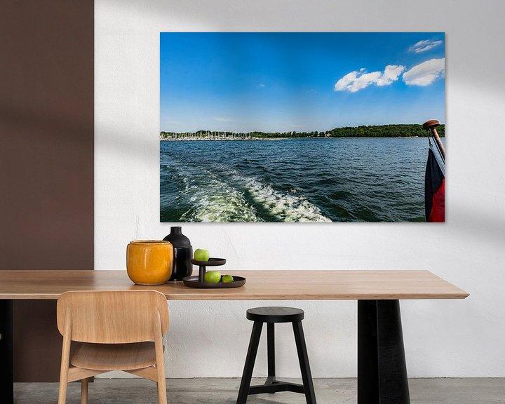 Beispiel: Boddenrundfahrt Insel Vilm, Hafen Lauterbach, Moritzdorf, Bollwerk/Baabe auf Rügen von GH Foto & Artdesign