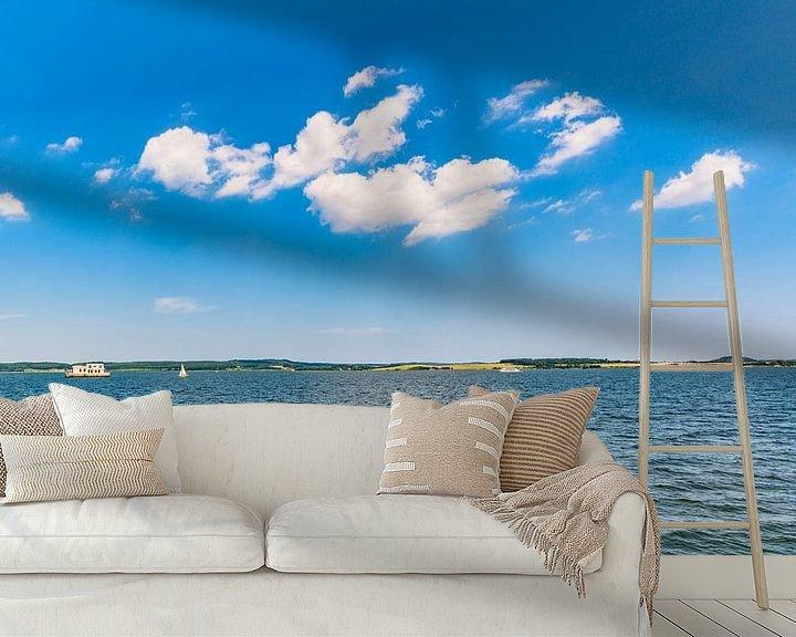 Beispiel fototapete: Boddenrundfahrt Insel Vilm, Hafen Lauterbach, Moritzdorf, Bollwerk/Baabe auf Rügen von GH Foto & Artdesign