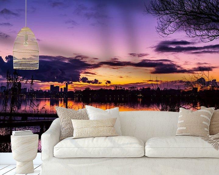 Sfeerimpressie behang: Like a Brave Summernight in Winter nr. 1 van Deborah de Meijer