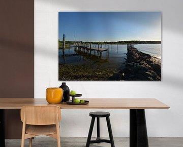 Wreecher See - Rügischer Bodden, Einmündung Wreecher See - Putbus auf Rügen von GH Foto & Artdesign