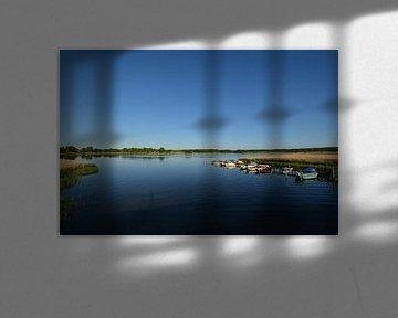 Fischerboote Wreecher See - Putbus auf Rügen von GH Foto & Artdesign