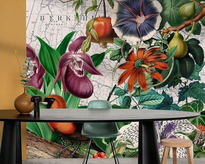 Sfeerimpressie behang: Favoriete plaats van christine b-b müller