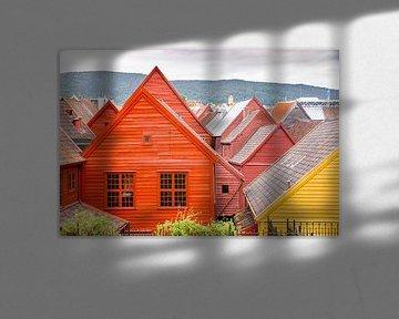 Farbige Häuser von Sam Mannaerts