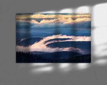 Nebel im Tal von Sam Mannaerts