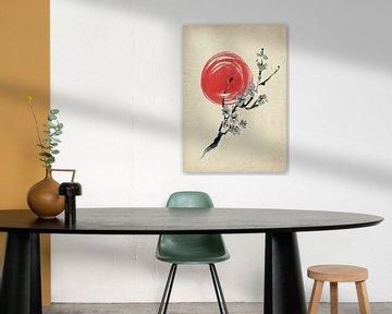 Fleur de cerisier sur Lucia