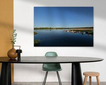 Fischerboote am Wreecher See  Putbus auf Rügen von GH Foto & Artdesign