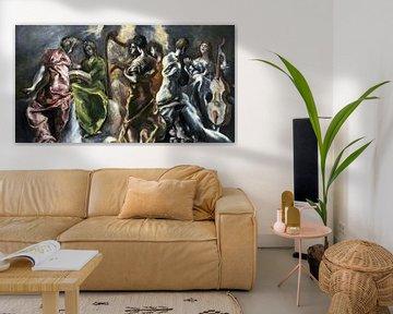 Das Konzert der Engel - El Greco (Domenikos Theotokopoulos), 1608-1614