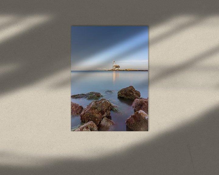 Sfeerimpressie: Vuurtoren Marken van Jeroen Kleiberg