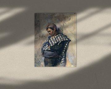 Toreador - Francisco Pradilla Y Ortiz, 1870-1921 von Atelier Liesjes
