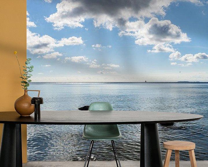 Beispiel fototapete: Naturstrand Lobbe, Halbinsel Mönchgut auf Rügen von GH Foto & Artdesign