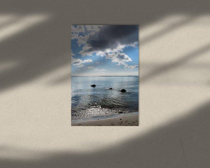 Beispiel: Naturstrand Lobbe, Halbinsel Mönchgut auf Rügen von GH Foto & Artdesign