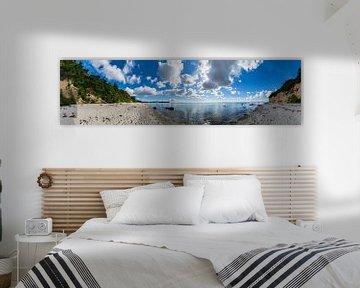 Panorama, Naturstrand Lobbe, Halbinsel Mönchgut auf Rügen von GH Foto & Artdesign